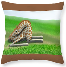 All paintings are available on throw pillows & other products. Click LINK TWO