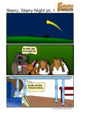 Frodo the Sheltie : Starry Starry Night (pt.1)